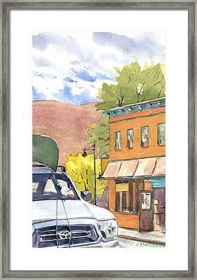 Spirit Of Moab Framed Print by Jeff Mathison