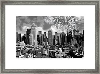 Spirit Of New York City Framed Print by Diana Angstadt