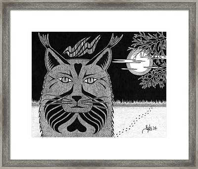 Spirit Of Revelation Framed Print