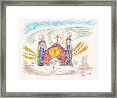 Spirit Of St Francis Framed Print