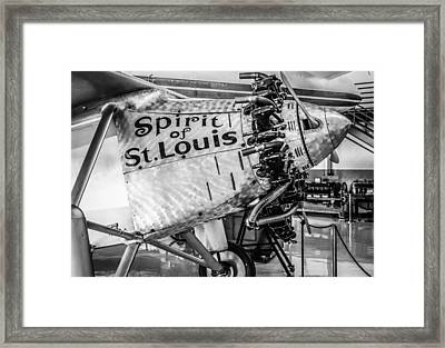 Spirit Of St. Louis Framed Print