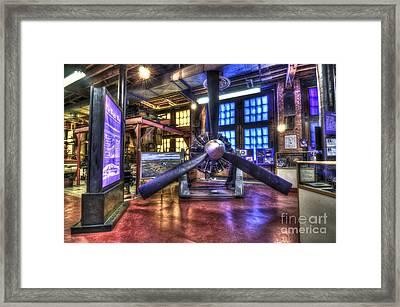 Spirit Of St.louis Engine Framed Print