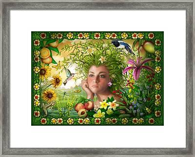 Spirit Of Summer Framed Print