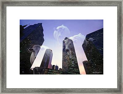 Spirit Of Texas Framed Print