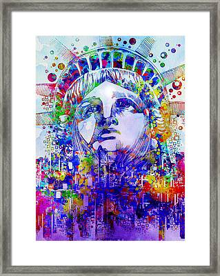 Spirit Of The City 2 Framed Print