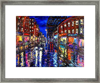 Spirit Of The City Framed Print by Arthur Robins