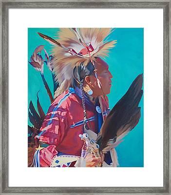 Spirit Of The Dance Framed Print