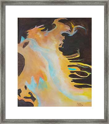 Spirit Of The Fire Framed Print
