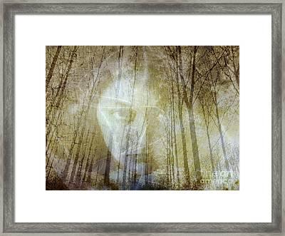 Spirit Of The Forest Framed Print