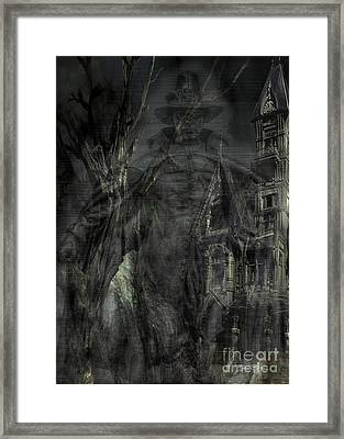 Spirit Of The Inquisitor Framed Print by Dan Stone