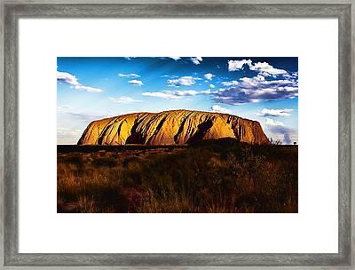 Spirit Of The Rock Framed Print by Douglas Barnard