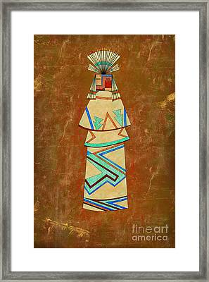 Spirit Of The Sand Framed Print