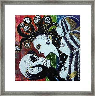 Spirit Of The Sea Framed Print by Laura Barbosa
