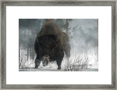 Spirit Of Winter Framed Print by Daniel Eskridge