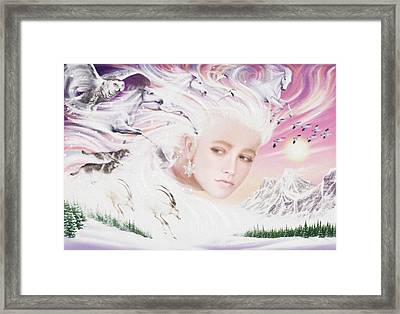 Spirit Of Winter Framed Print