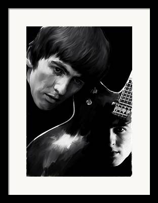 George Harrison David Pucciarelli Framed Prints