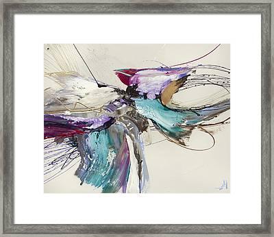 Spirit Rising X Framed Print by Jonas Gerard