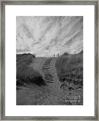 Framed Print featuring the photograph Spirit Sands by Cendrine Marrouat