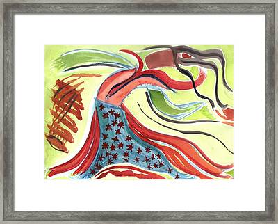 Spirit Sharing Framed Print