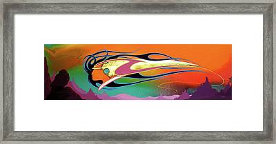 Spirit Wind Framed Print