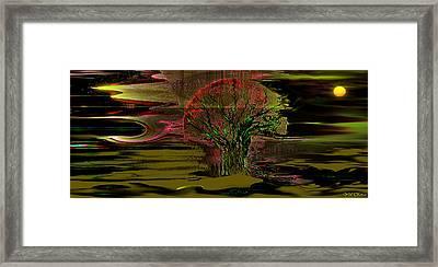 Spirit Framed Print by Yul Olaivar
