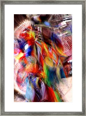 Spirits 3 Framed Print by Joe Kozlowski