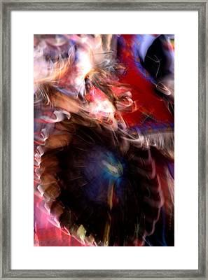 Spirits 5 Framed Print by Joe Kozlowski