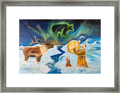 Spirits Call Framed Print