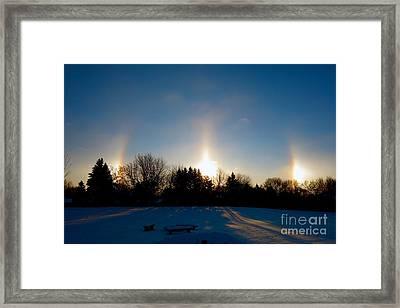 Spirits Light Framed Print by Jacqueline Athmann
