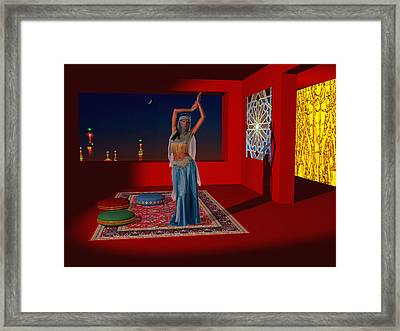 Spirits Of Arabia Framed Print