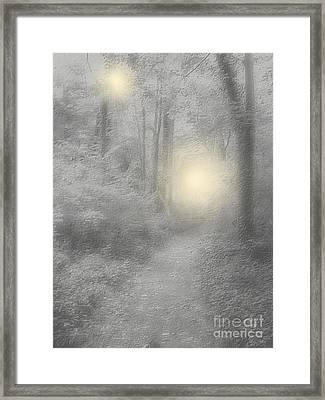 Spirits Of Avalon Framed Print by Roxy Riou
