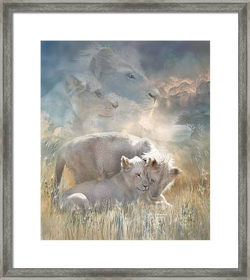 Spirits Of Innocence Framed Print by Carol Cavalaris