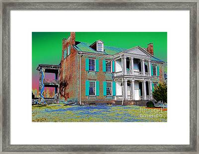 Spirits Of The Civil War Framed Print by Francine Hall
