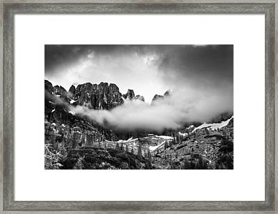 Spirits Of The Mountains Framed Print by Yuri Santin