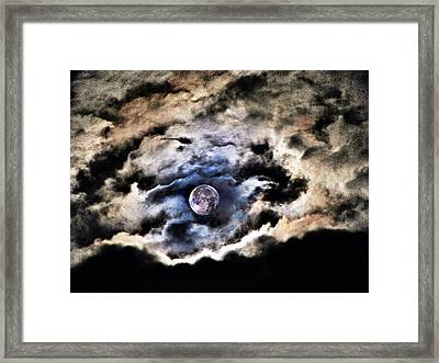 Spirits Of The Night Framed Print by Marianna Mills