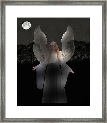 Spiritual Angel Framed Print by Eric Kempson