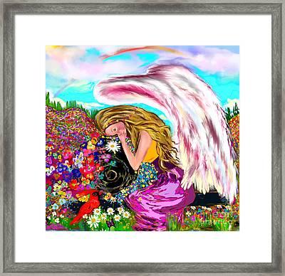 Spiritual Awakening  Framed Print by Lori  Lovetere