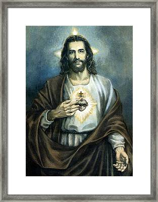 Spiritual Beauty Framed Print