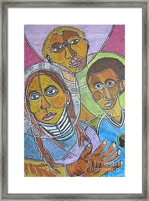 Spiritual Bonding Framed Print by Robert Daniels