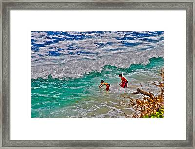 Spiritual Cleanse Framed Print by Joe  Burns
