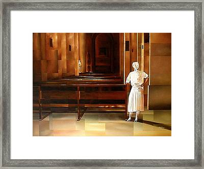 Spiritual Enlightenment Framed Print by Laurend Doumba
