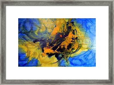 Spiritual Freedom Framed Print by Lalo Gutierrez