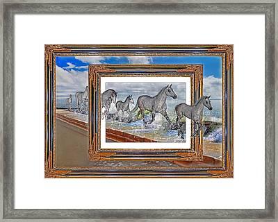 Spiritual Keys Framed Print by Betsy Knapp