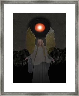 Spiritual Light Framed Print by Eric Kempson