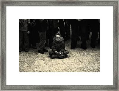 Spiritual Mindset Framed Print