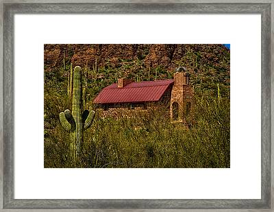 Framed Print featuring the photograph Spiritual Oasis by Mark Myhaver