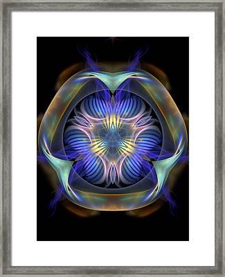 Spiritual-panels-1-left-or-righbb Framed Print by Bill Campitelle