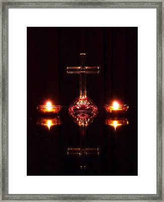 Framed Print featuring the photograph Spiritual Reflection by Jim Whalen