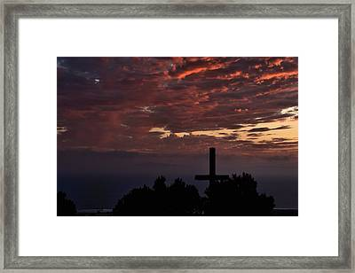 Framed Print featuring the photograph Spiritual Retreat by Michael Gordon