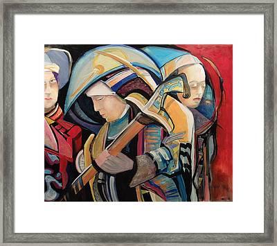 Spiritual Soldiers Framed Print by Shane Guinn